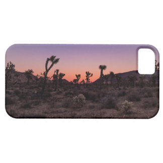 Sunset Joshua Tree National Park iPhone 5 Cover