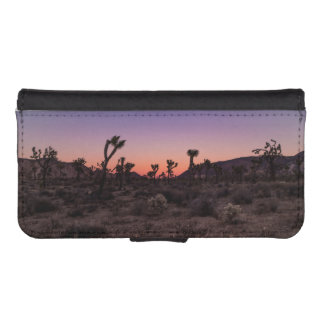 Sunset Joshua Tree National Park iPhone SE/5/5s Wallet Case