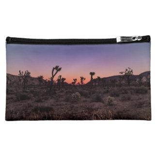 Sunset Joshua Tree National Park Makeup Bag