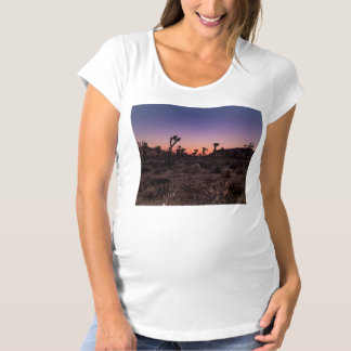 Sunset Joshua Tree National Park Maternity T-Shirt
