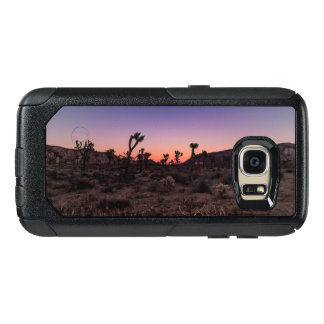 Sunset Joshua Tree National Park OtterBox Samsung Galaxy S7 Case