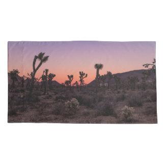 Sunset Joshua Tree National Park Pillowcase