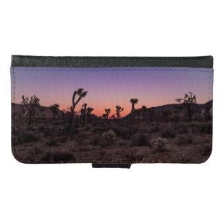 Sunset Joshua Tree National Park Samsung Galaxy S6 Wallet Case