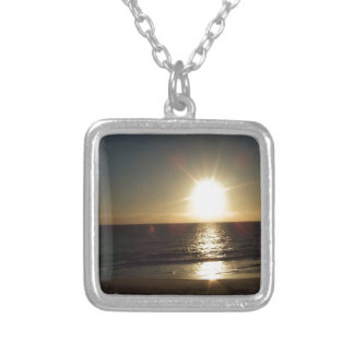 sunset.JPG Silver Plated Necklace