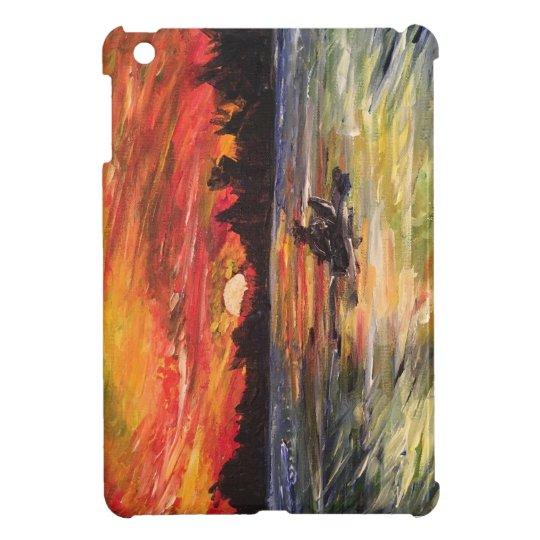 Sunset Kayaker iPad Mini Case