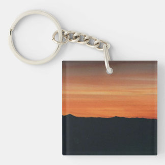 Sunset Key Chain