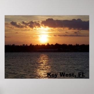 sunset Key West, FL Poster