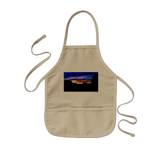 Sunset La Sal Mountains Viewpoint Arches National Kids Apron