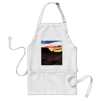 Sunset La Sal Mountains Viewpoint Arches National Standard Apron