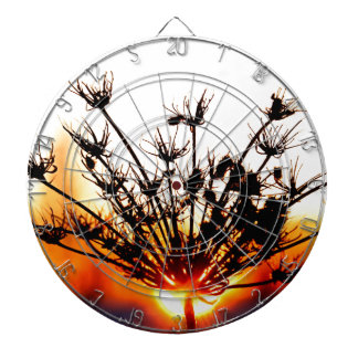 Sunset Lace Dartboard