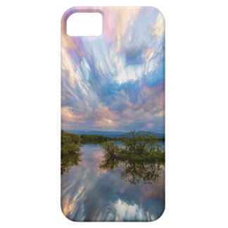 Sunset  Lake Reflections Timed Stack iPhone 5 Covers