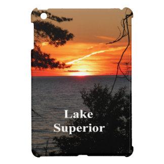 Sunset Lake Superior iPad Mini Cover