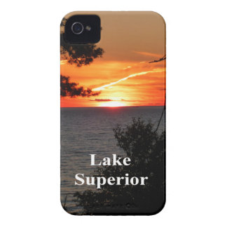 Sunset Lake Superior iPhone 4 Case