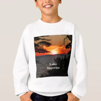 Sunset Lake Superior Sweatshirt