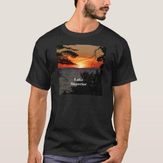 Sunset Lake Superior T-Shirt