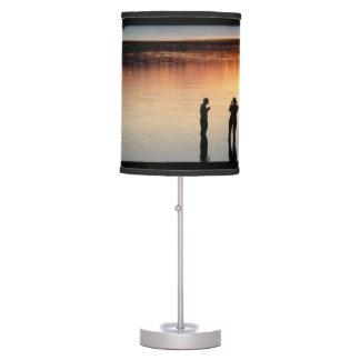 Sunset lamp - Walden Pond