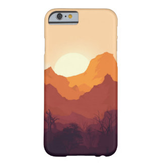 sunset landscape barely there iPhone 6 case