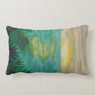 Sunset Landscape Lumbar Pillow