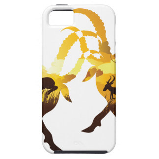 Sunset Landscape with Antelopes iPhone 5 Cover