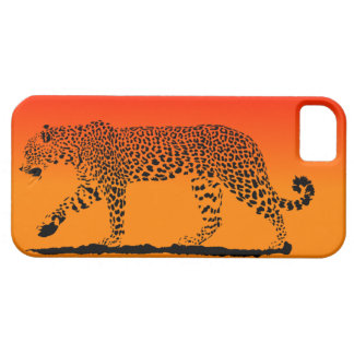 Sunset Leopard I phone case
