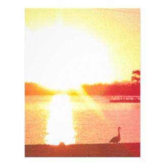 Sunset Letterhead Design