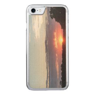 Sunset Light Wooden iPhone 7 Case