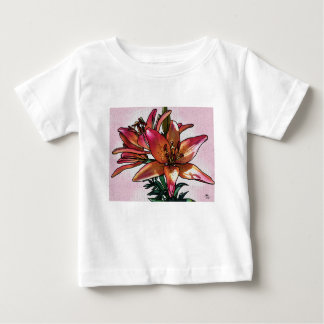 Sunset lily baby T-Shirt