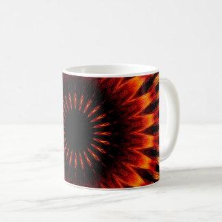 Sunset Mandala Coffee Mug