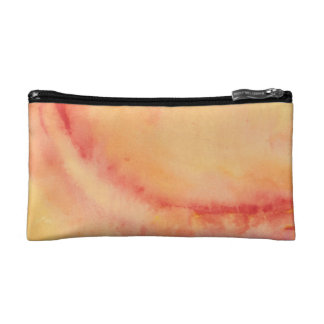 Sunset Marble Makeup Bag