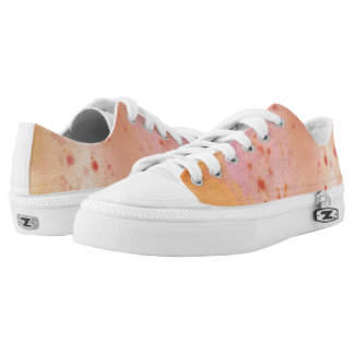 Sunset Marble Splat Low-Top Sneakers