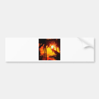 Sunset Maui Bumper Sticker