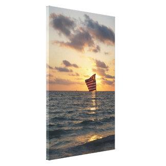 Sunset Memorial Canvas Print