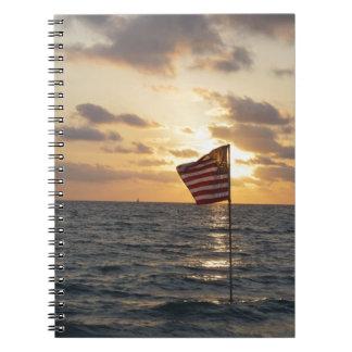 Sunset Memorial Notebook