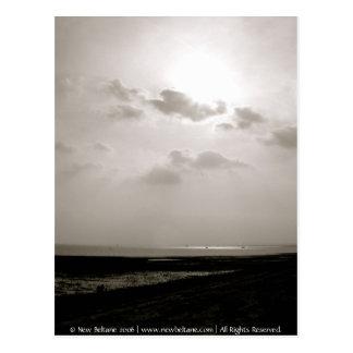 Sunset, Mersea Island Postcard
