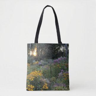 Sunset Mid-September Gardens Tote Bag