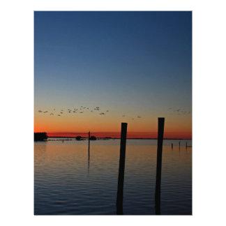 Sunset Migration Letterhead