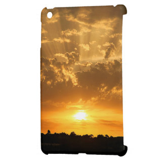 Sunset mini ipad case