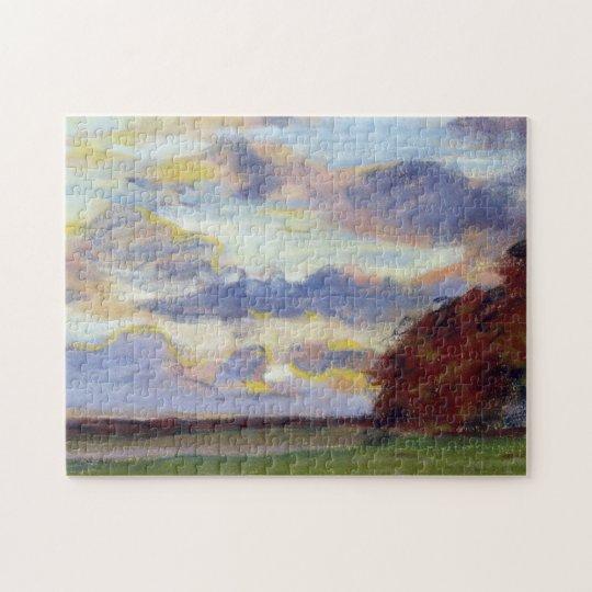 Sunset Monet Fine Art Jigsaw Puzzle