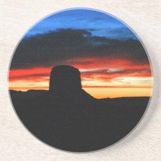 Sunset, Monument Valley, UT Coaster