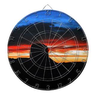 Sunset, Monument Valley, UT Dartboard