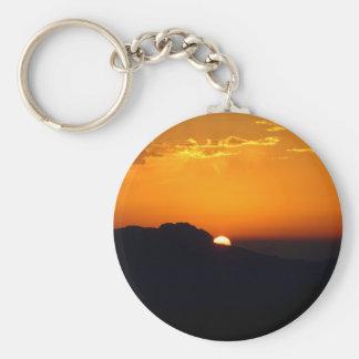 Sunset Moroccan Glow Keychain