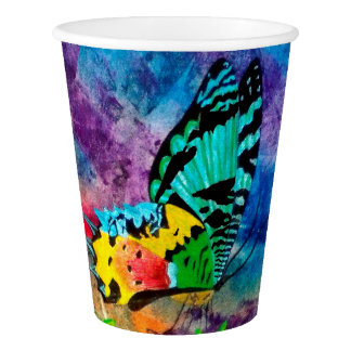 Sunset Moth Profile Paper Cup