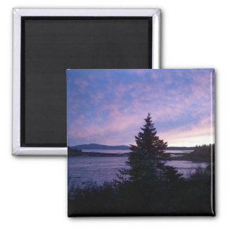 Sunset, Mt. Desert Island Magnet