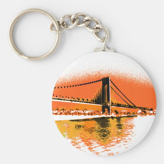 Sunset Narrows Bridge keychain