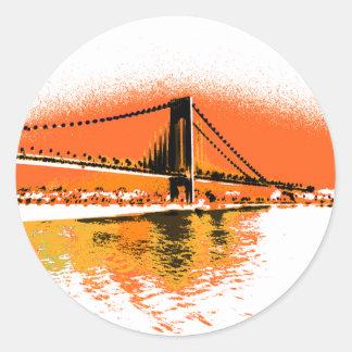 Sunset Narrows Bridge sticker