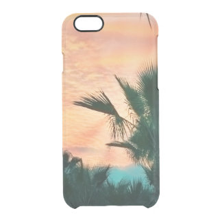 sunset. natural collection clear iPhone 6/6S case