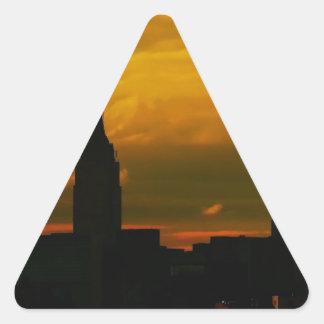 Sunset New York City Stickers