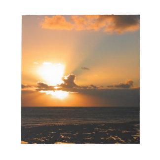 Sunset Notepad