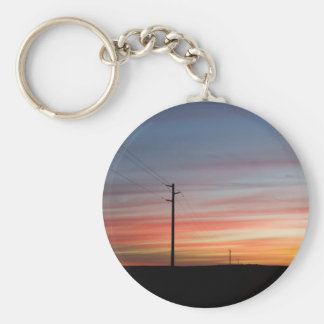 Sunset Nothing But Wireless Keychain