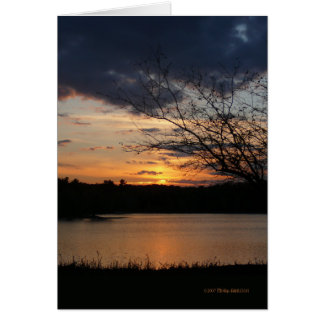 Sunset November 5th Card